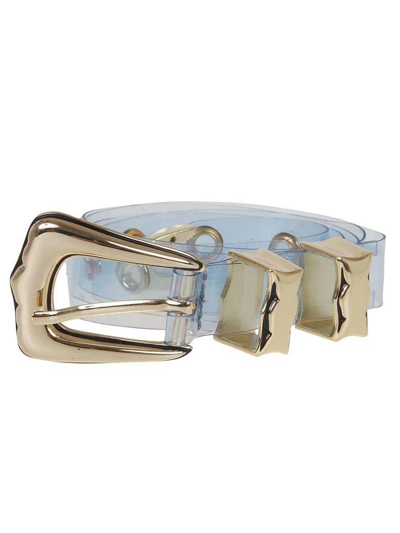 B-Low the Belt Transparent Belt - Sky Gold