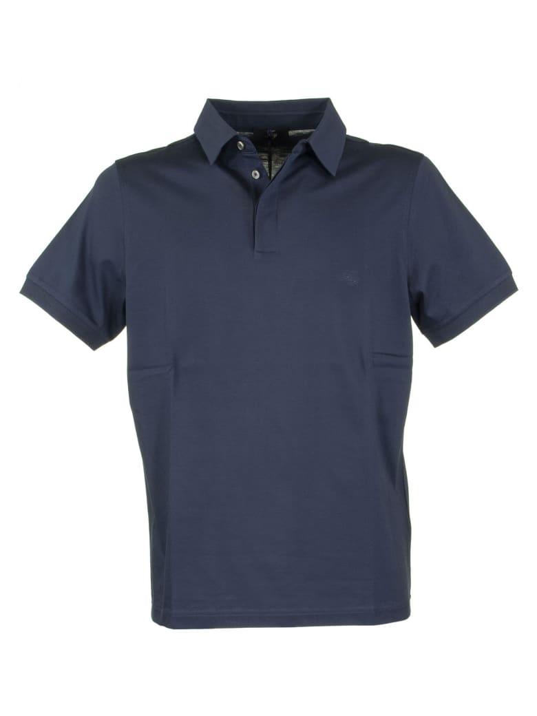 Fay Cotton Polo Shirt - Blue