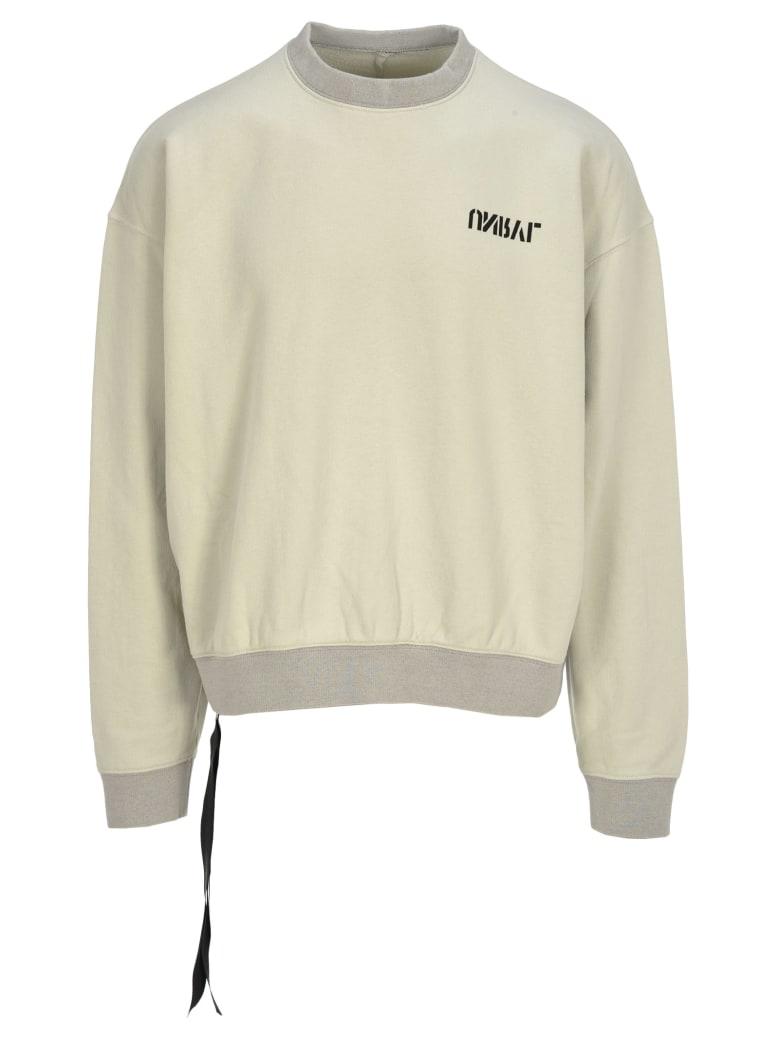 Ben Taverniti Unravel Project Unravel Unravel Project Back Skull Print Sweatshirt - BEIGE