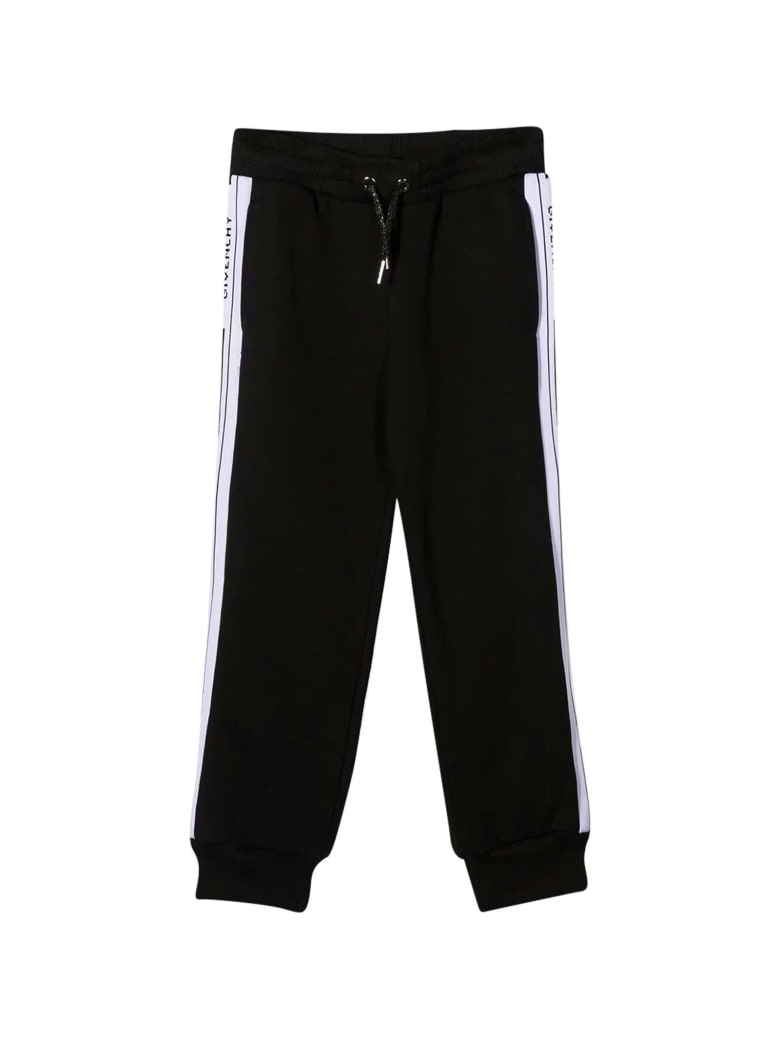 Givenchy Sporty Black Trousers - Nero