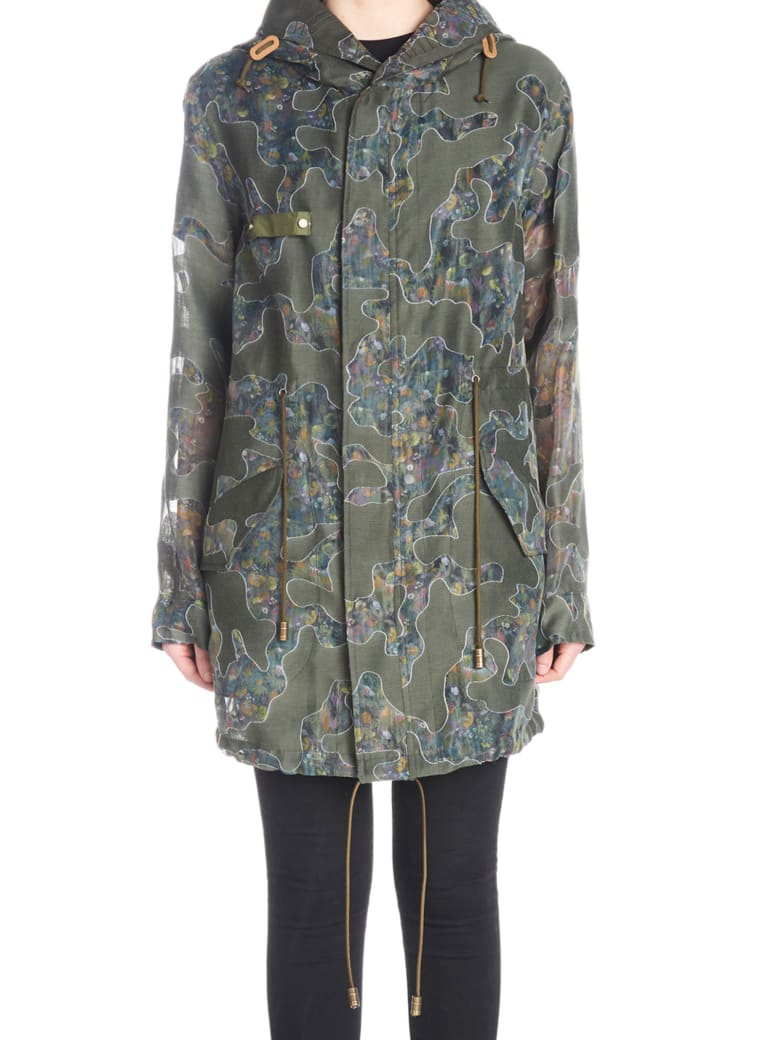 Mr & Mrs Italy Parka - Green