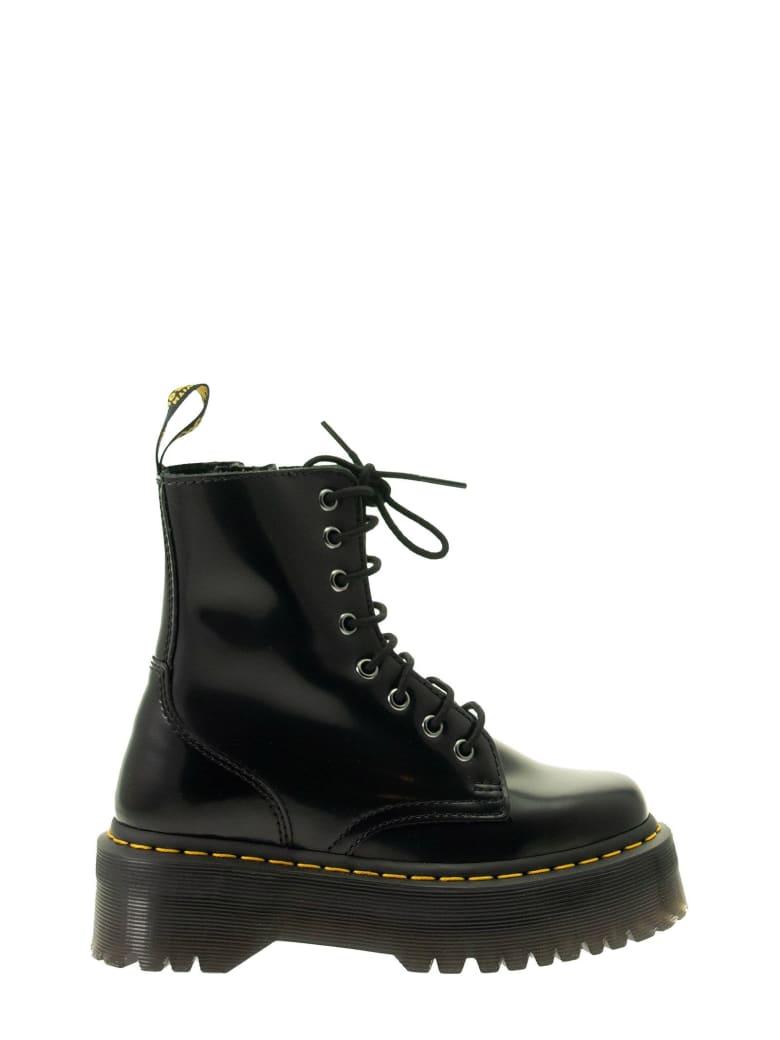 Dr. Martens Jadon Arcadia Leather Platform Boots - Black