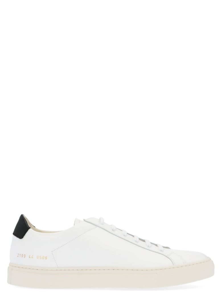 Common Projects 'retro Low' Shoes - White