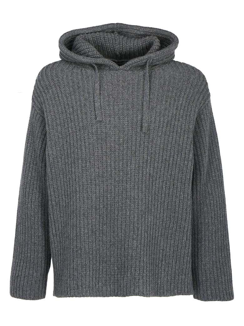 Valentino Hooded Sweater - Grigio medio mel.