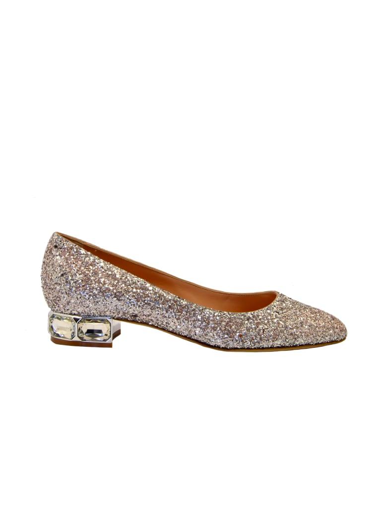 Ninalilou Ballerina Glitter Argento - Argento