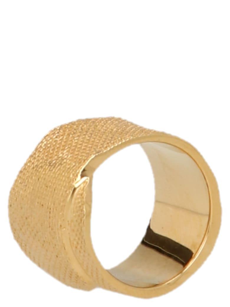 AMBUSH 'tape' Ring - Gold