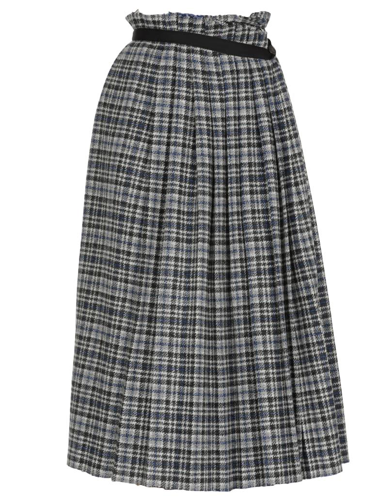 Golden Goose Asagao Skirt - BLUE/BLACKTWEED