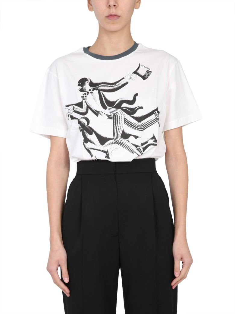 Telfar Round Neck T-shirt - BLU