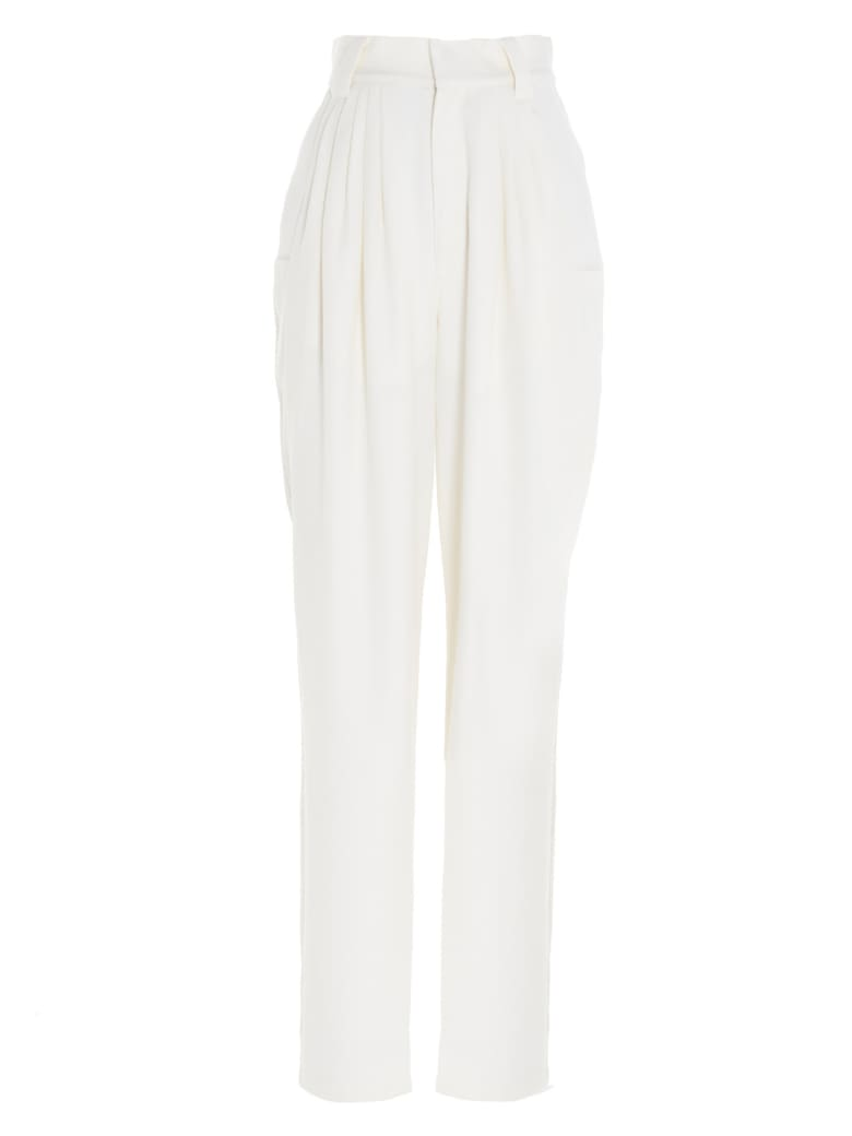 Alessandra Rich Pants - White