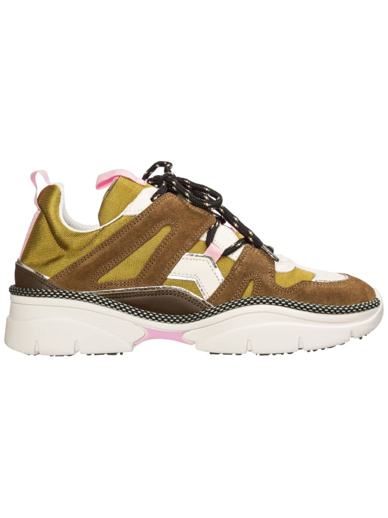 Isabel Marant Kindsay Sneakers - Marrone