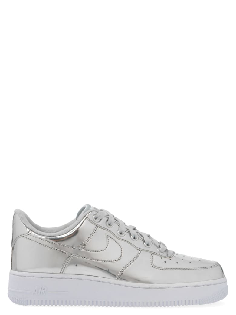 Nike 'air Force 1' Shoes - Silver