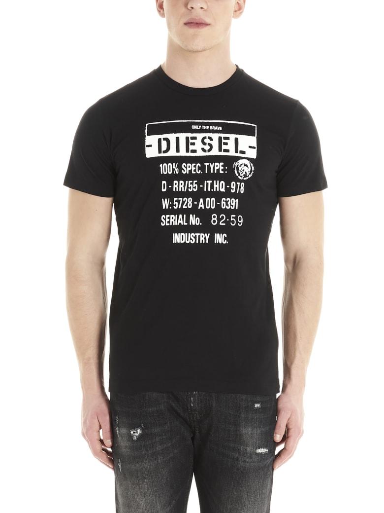 Diesel 'industry' T-shirt - Black