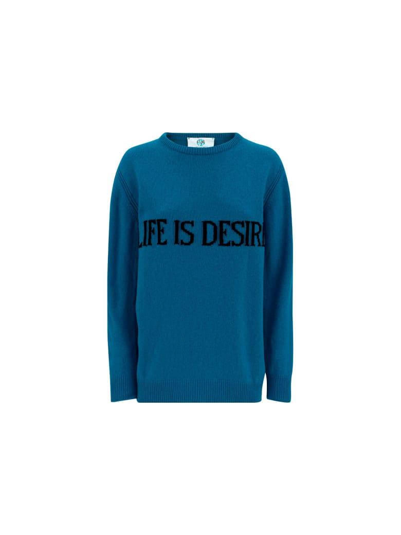 Alberta Ferretti Sweater - Petrol blue