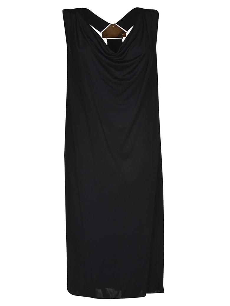 Versus Versace Sleeveless Long Dress - Black