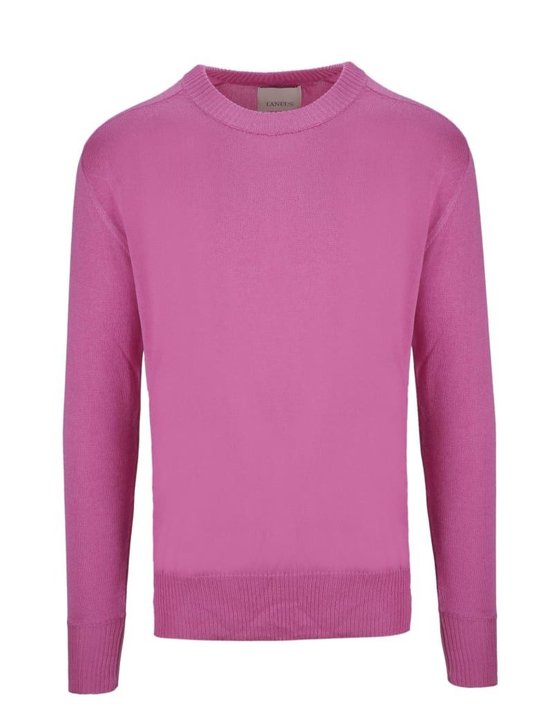 Laneus Classic Sweater - Pink & Purple