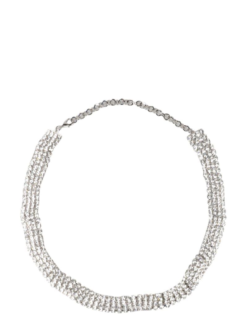 Alessandra Rich Belt - White