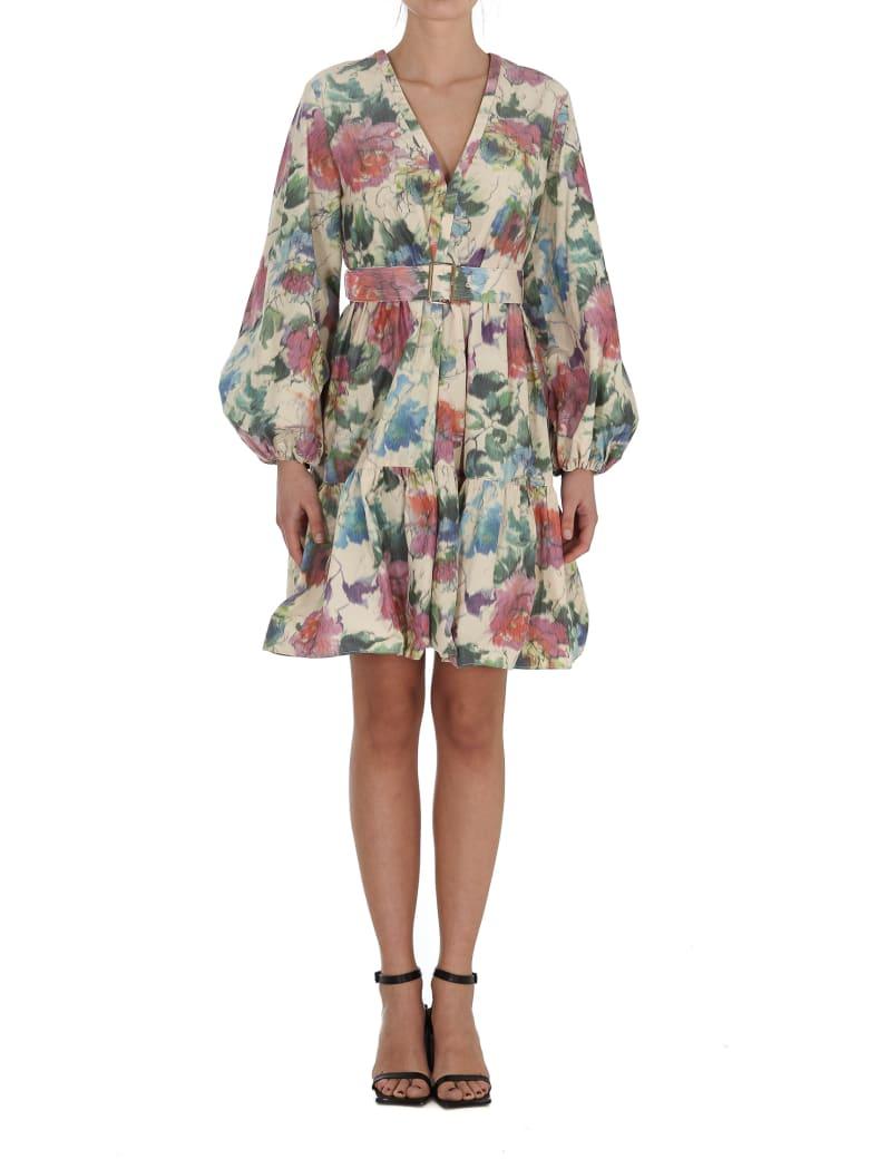 Pinko Dress - NEUTRALS/GREEN