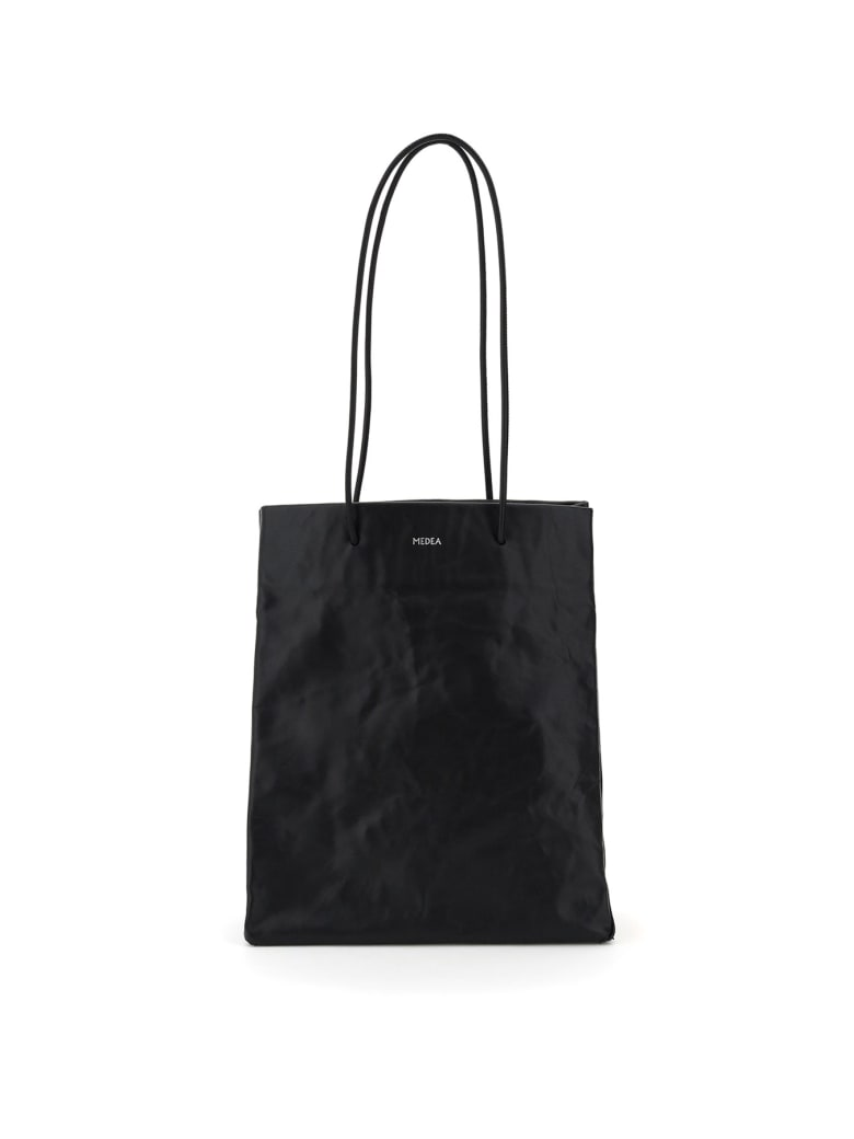 Medea Tall Busted Bag - NERO (Black)