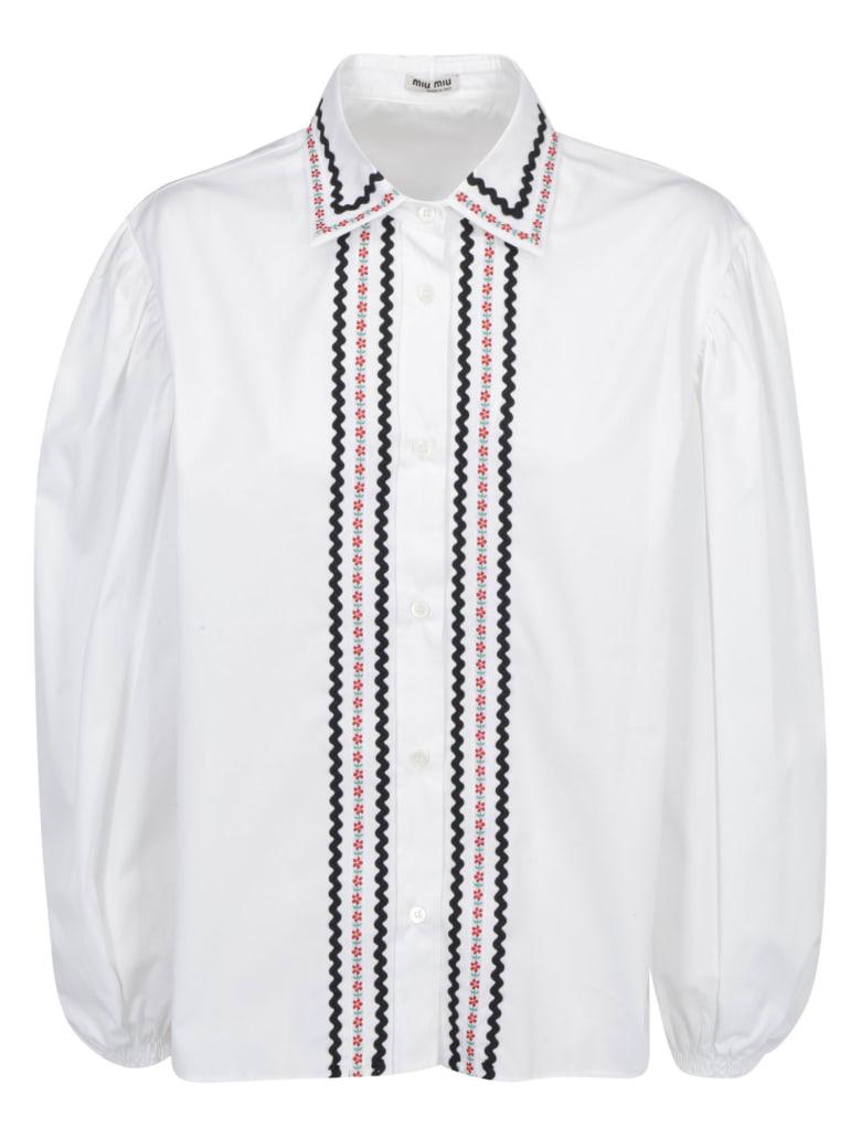 Miu Miu Shirt - Bianco