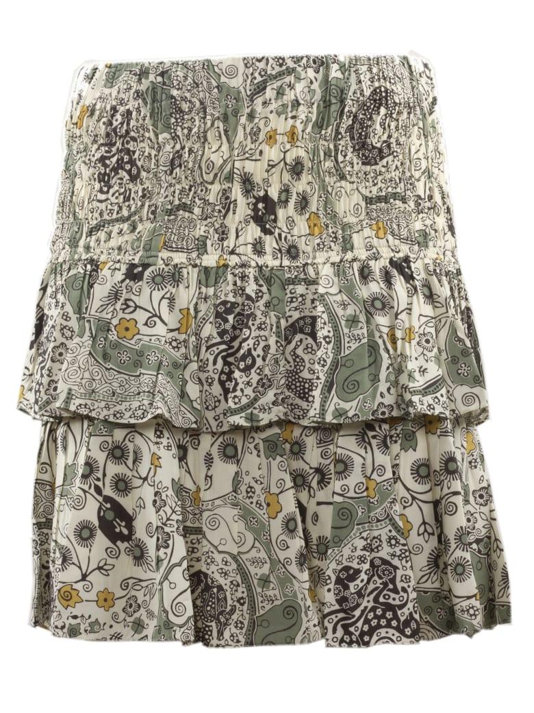 Isabel Marant Étoile Cordelia Skirt - Ecru/almond