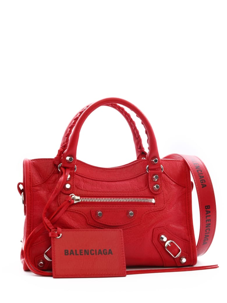 top style lowest discount discount shop Balenciaga Mini City Classic Bag Red