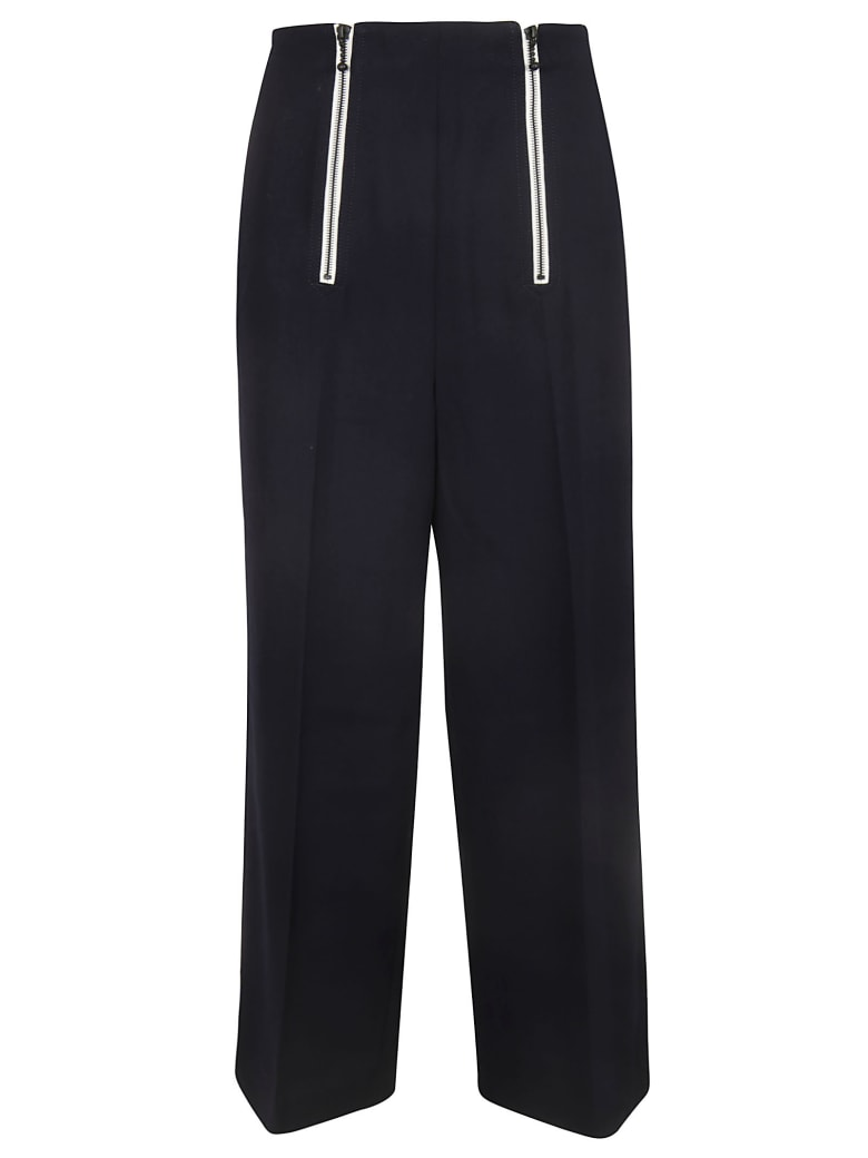 Y's Double Zip Trousers - Navy