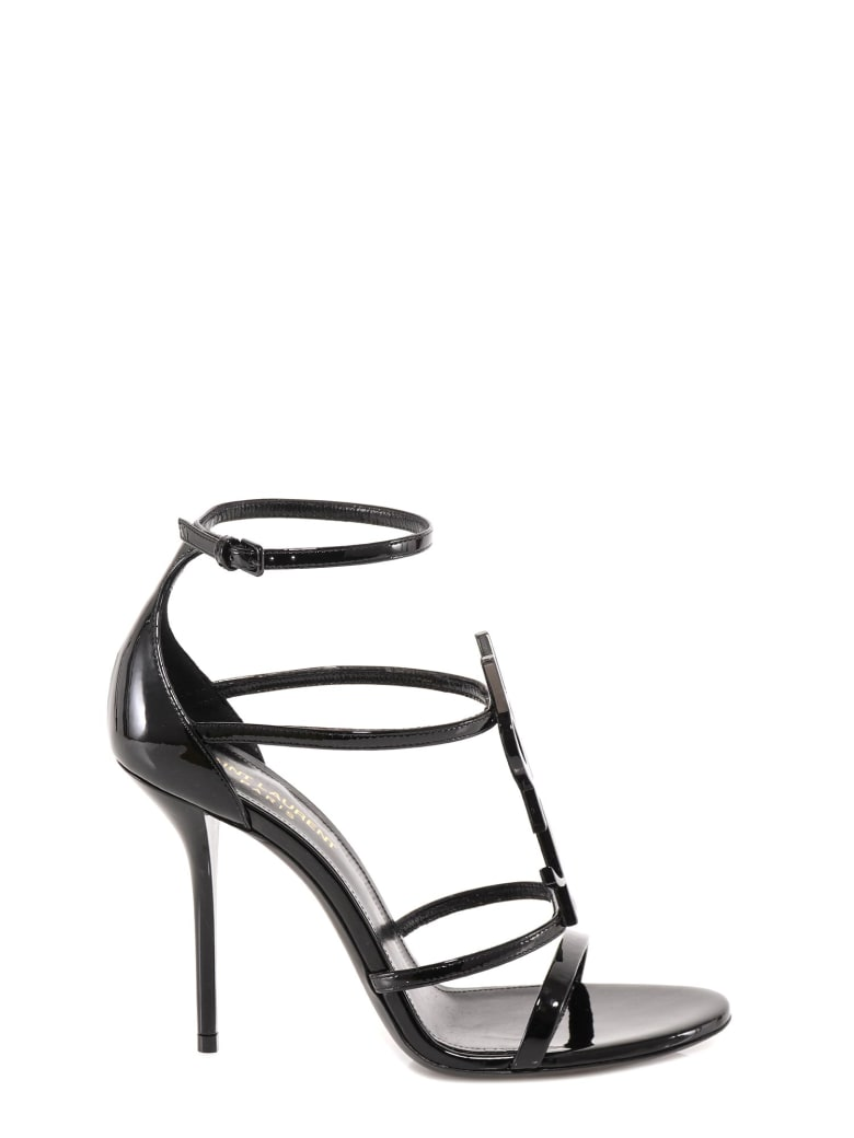 Saint Laurent Cassandra Sandals - Black