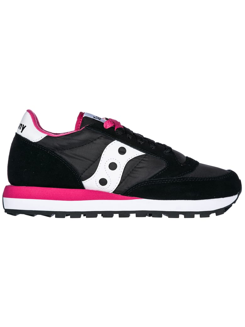 Saucony  Shoes Suede Trainers Sneakers Jazz O - Black / Pink