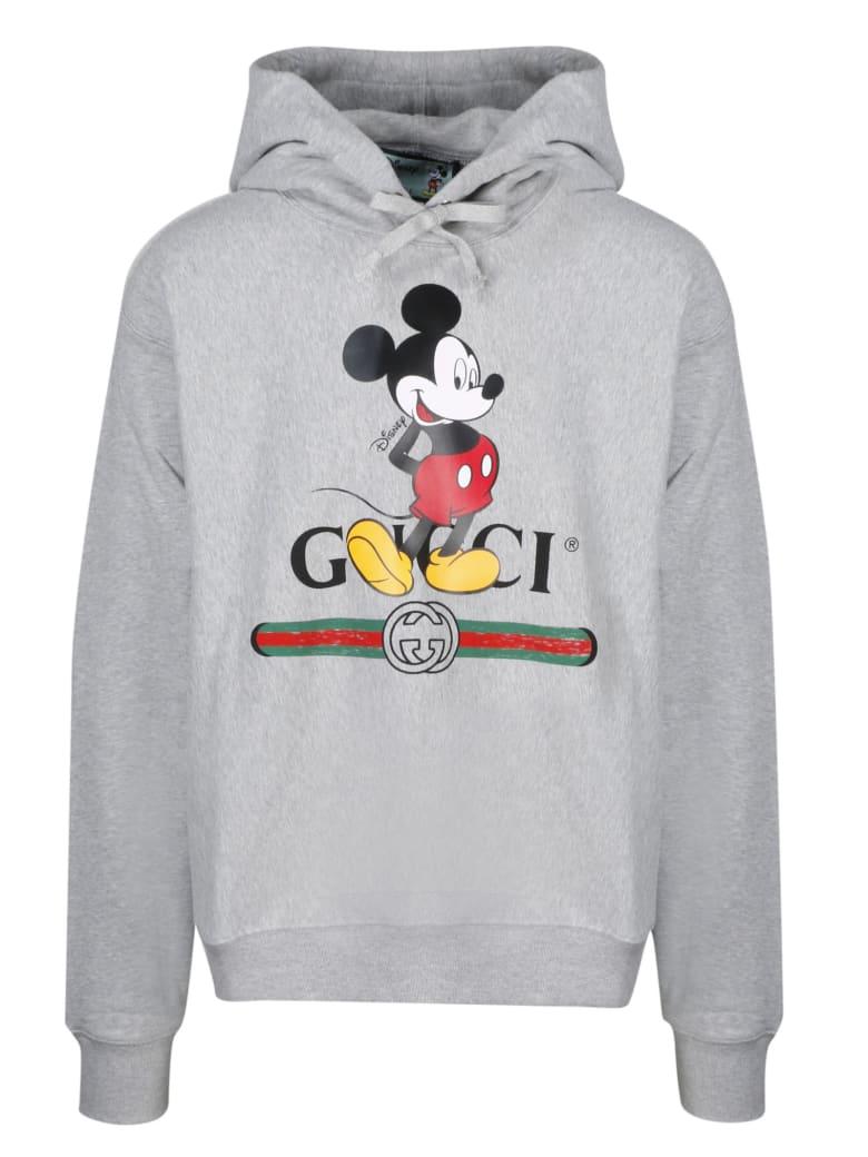 Gucci Hooded Sweatshirt - Medium Grey