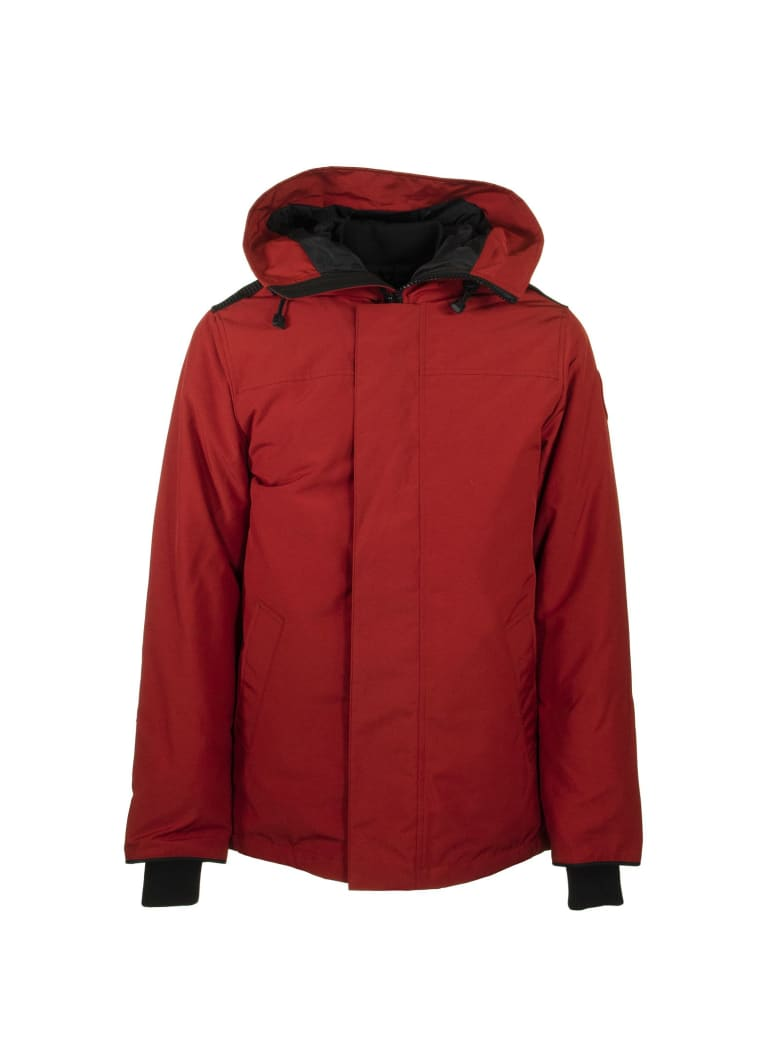 Canada Goose Garibaldi Parka Jacket - Red Maple