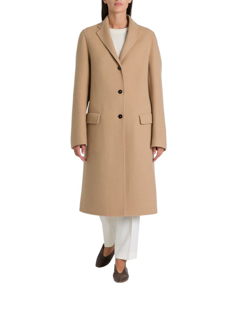 Jil Sander Landow Coat - Cammello