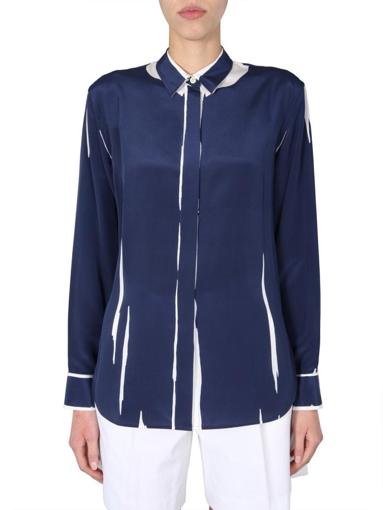 Paul Smith Long Sleeve Shirt - Blu scuro