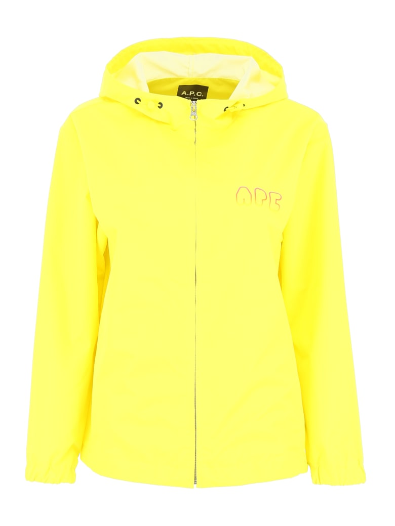 A.P.C. Drizzle Windbreaker - JAUNE (Yellow)