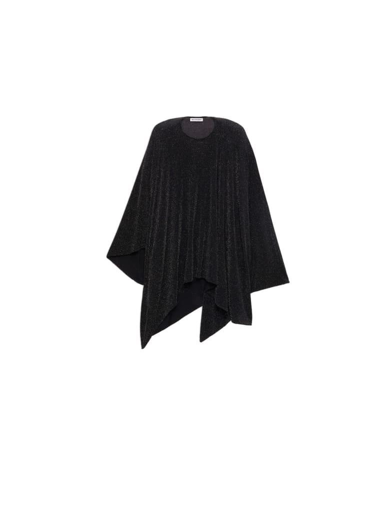 Balenciaga Draped Top - Black