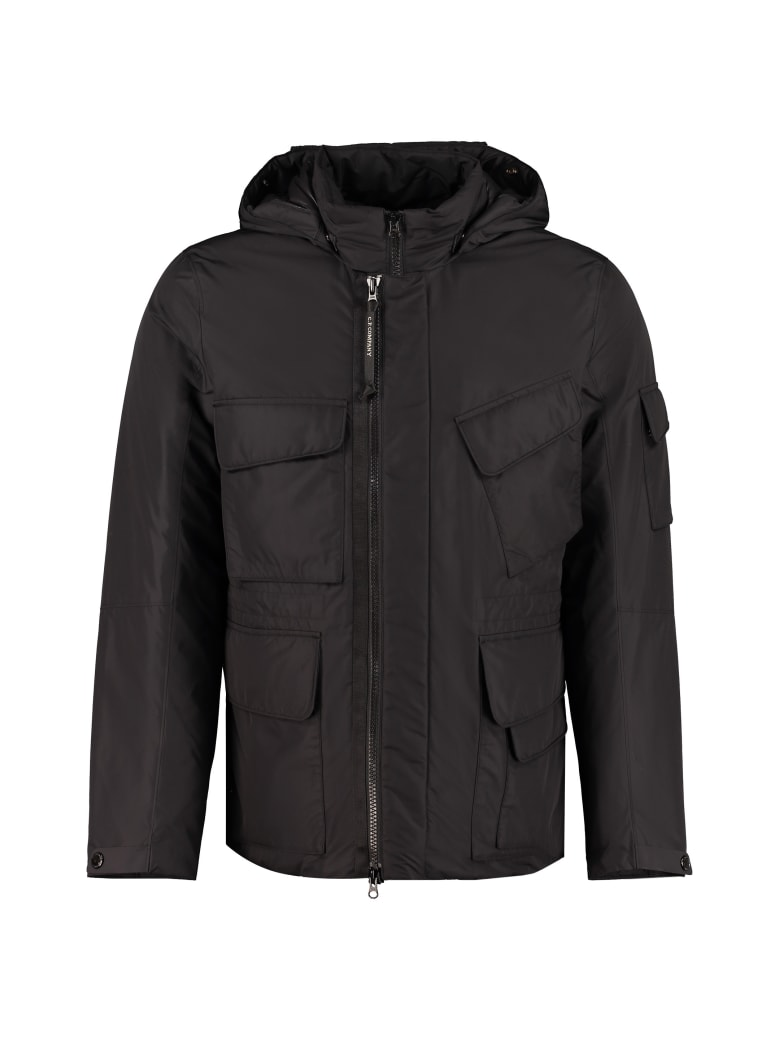 C.P. Company Multi-pocket Jacket - black