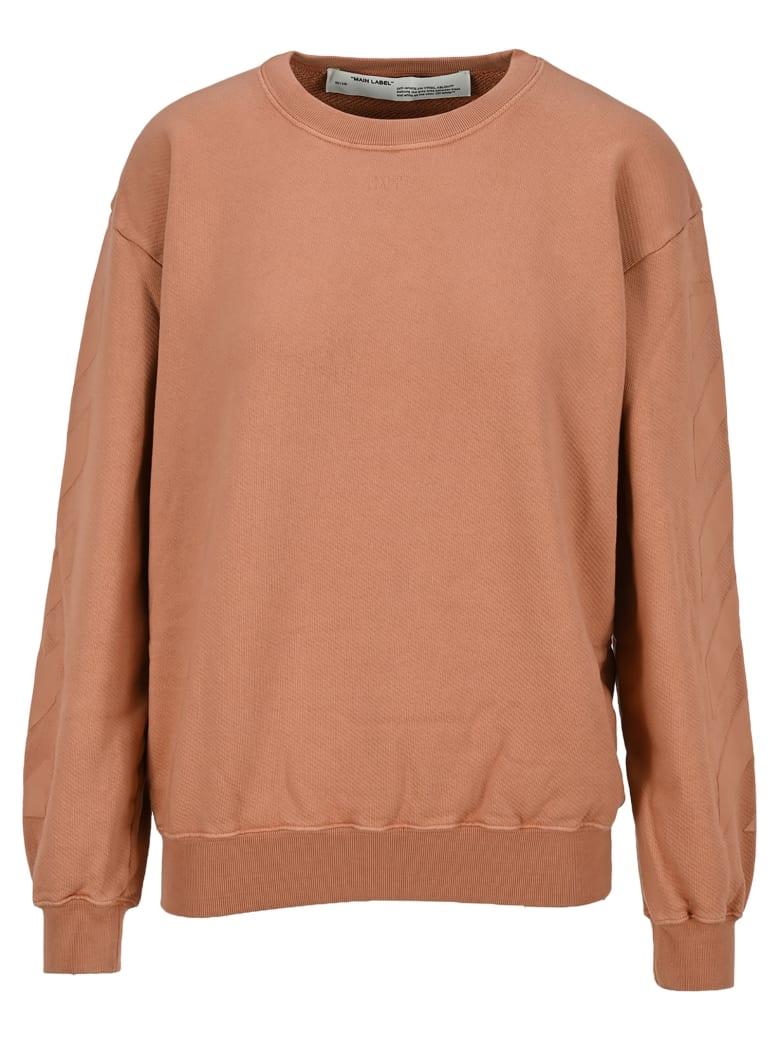 Off-White Off White Diagonal Sweatshirt - NUDE