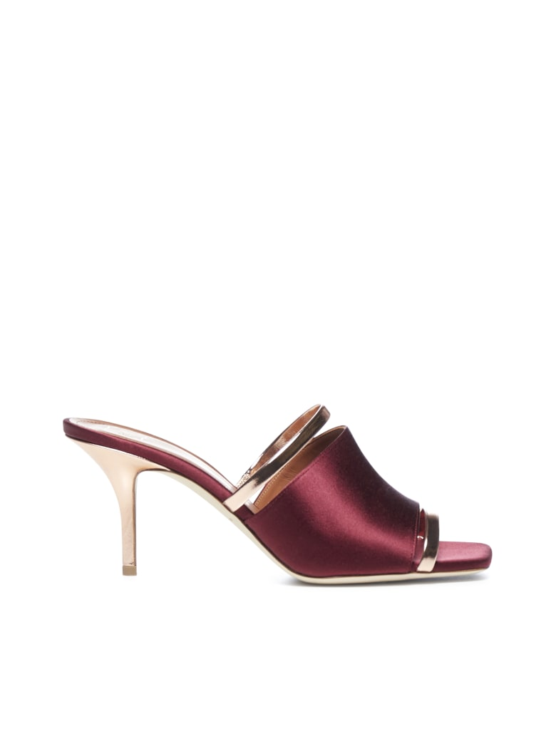 Malone Souliers  - Burgundy rose gold