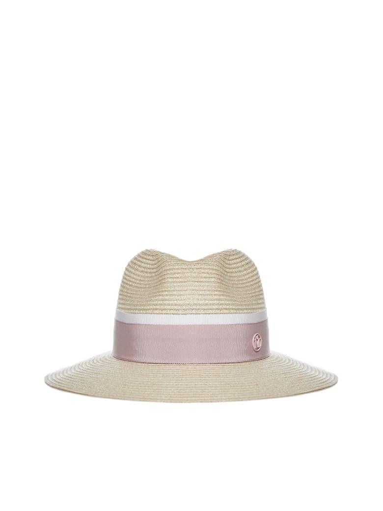 Maison Michel Hat - Natural pink