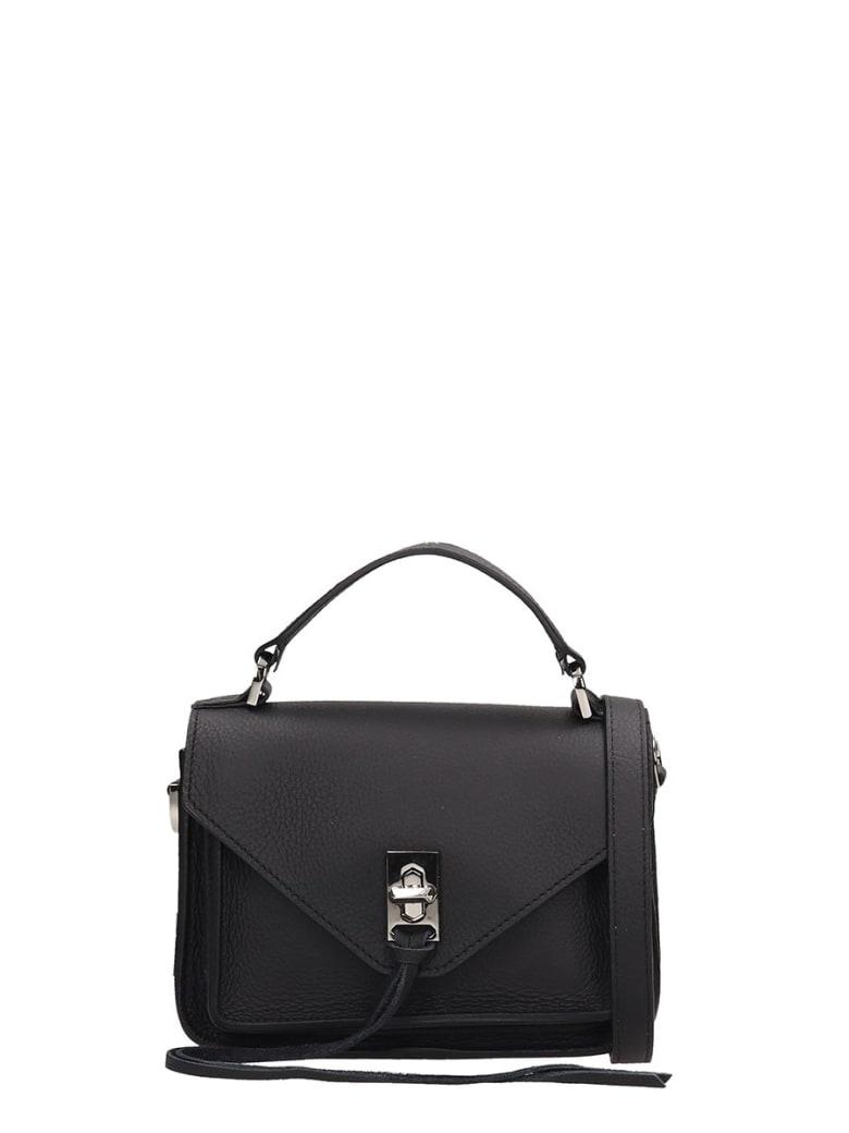 Rebecca Minkoff Black Leather Bag - black