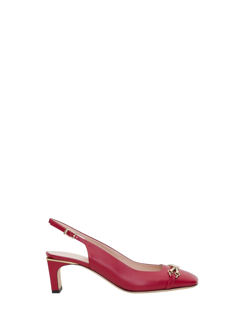 Pollini Slingback Pumps - Rosso