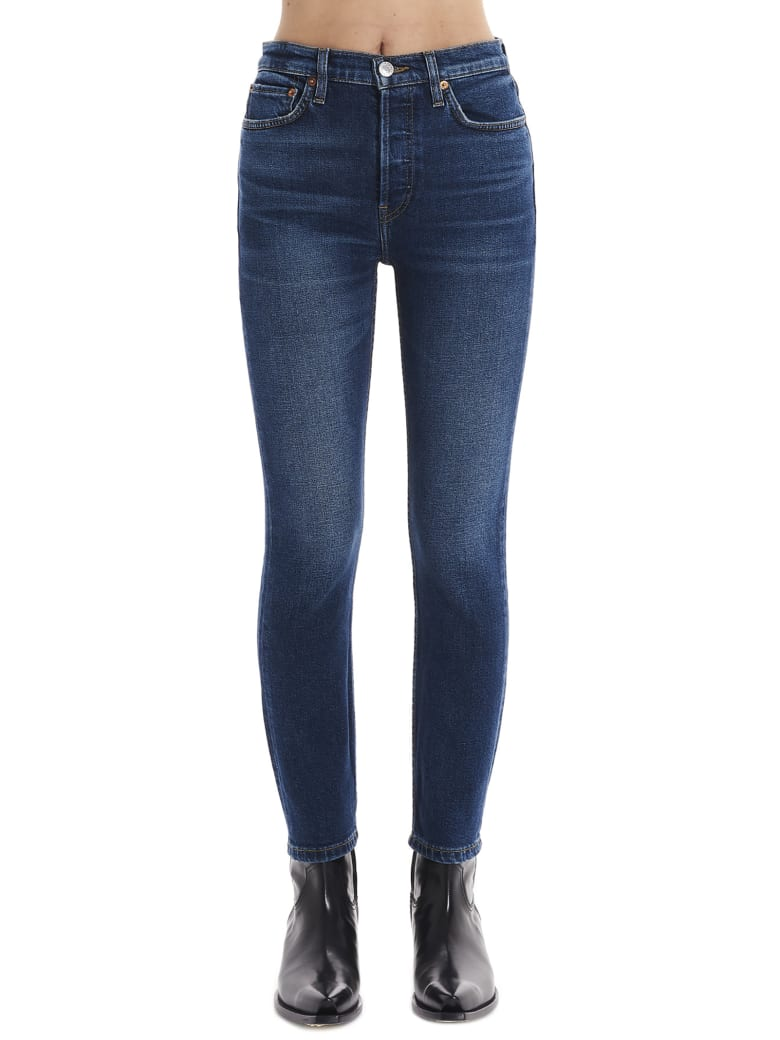 RE/DONE 'mid Seventies' Jeans - Blue