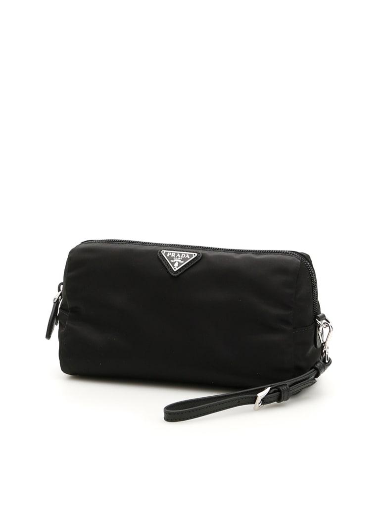 Prada Pouch With Handle - NERO (Black)