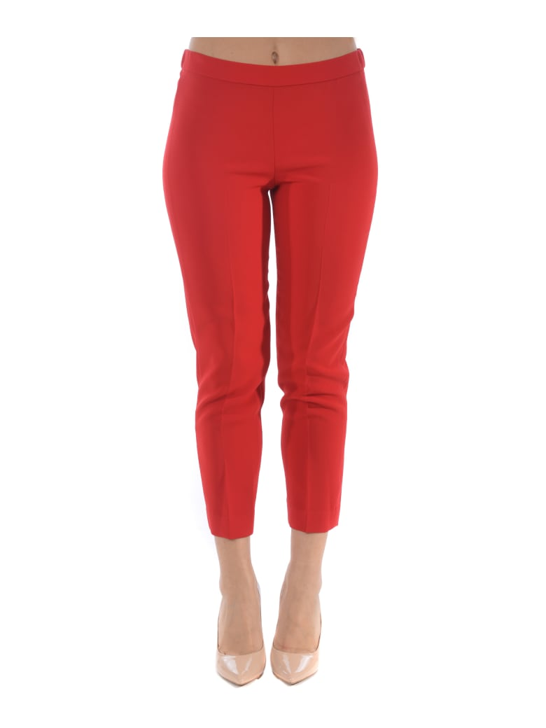 Theory Trousers - Rosso