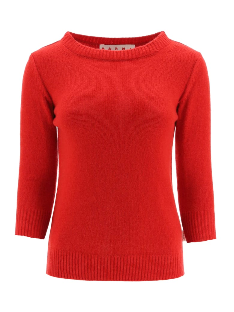 Marni Cashmere Sweater - RED (Red)