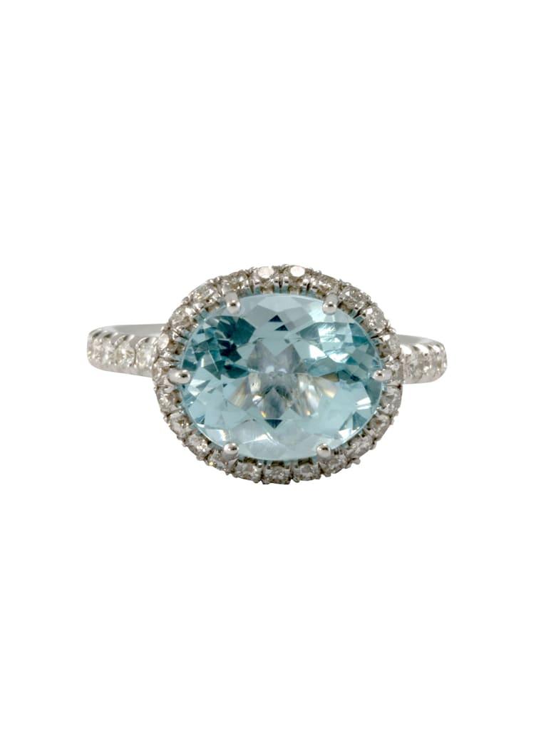 Lo Spazio Jewelry Lo Spazio Aqua Lucente Ring(H) - Sky_Blue