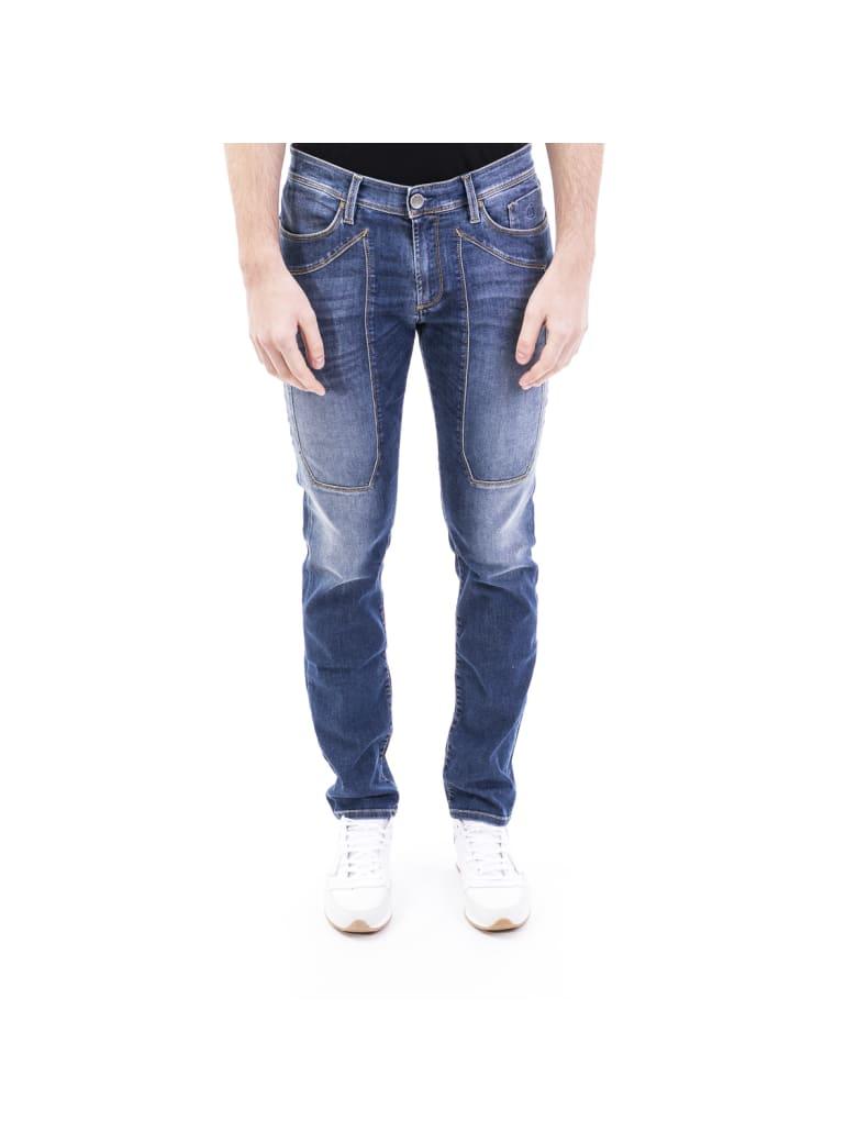Jeckerson Blend Cotton Jeans - Mid BLUE