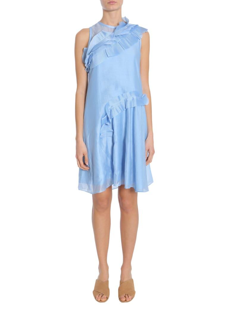 Carven Sleeveless Dress - CELESTE