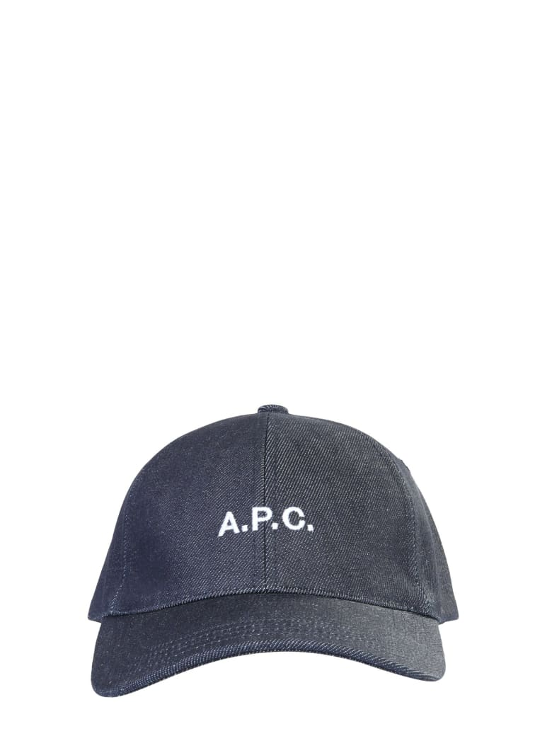 A.P.C. Charlie Baseball Hat - BLU