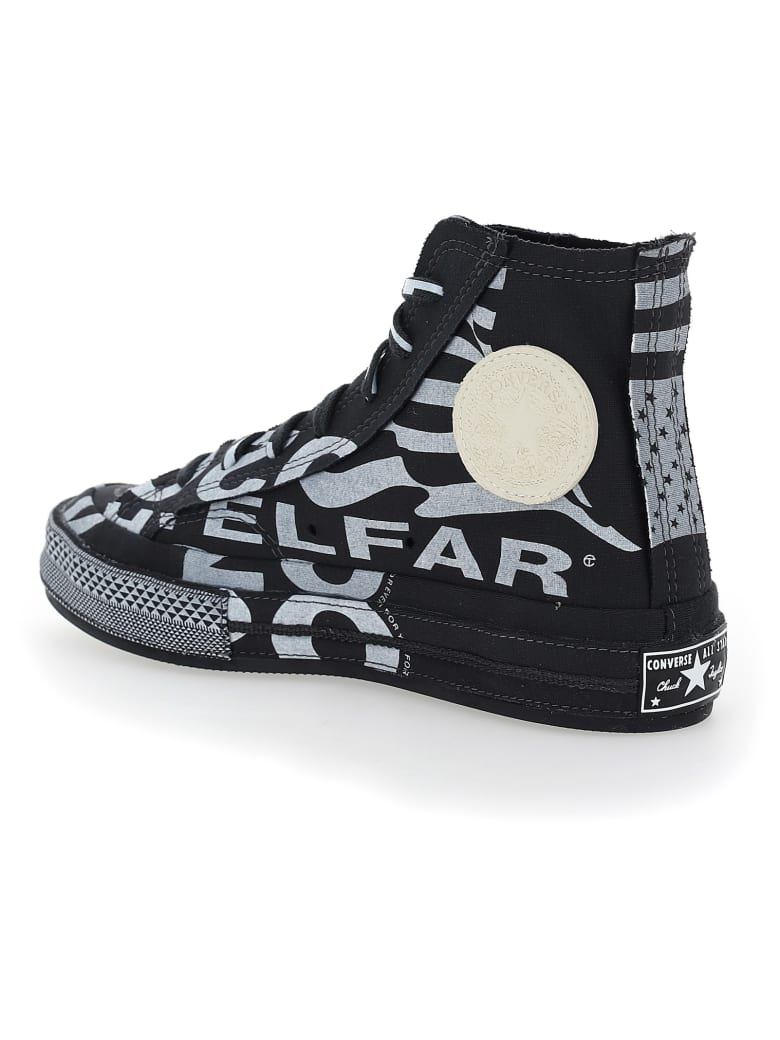 Telfar X Converse Sneakers - White/black