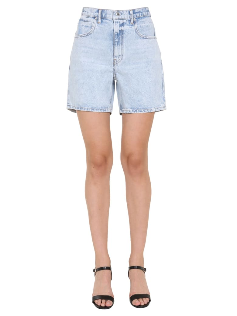 T by Alexander Wang Denim Shorts - DENIM